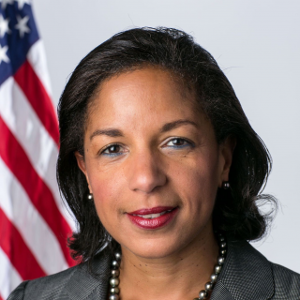 Susan Rice (former national security advisor and U.S. ambassador to the UN)