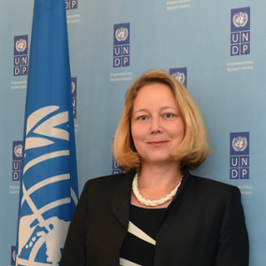 Agi VERES (Country Director of UNDP China)